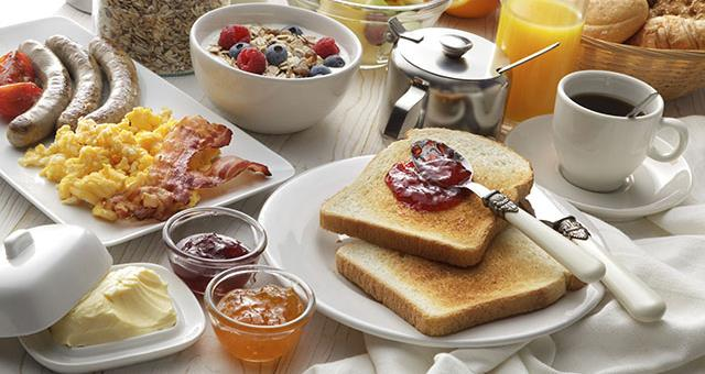Enjoy our rich breakfast at a special price