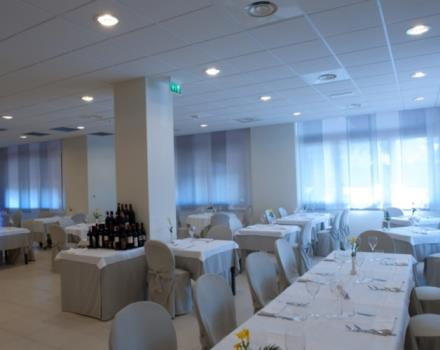 Try the restaurant at the Best Western Hotel Cristallo