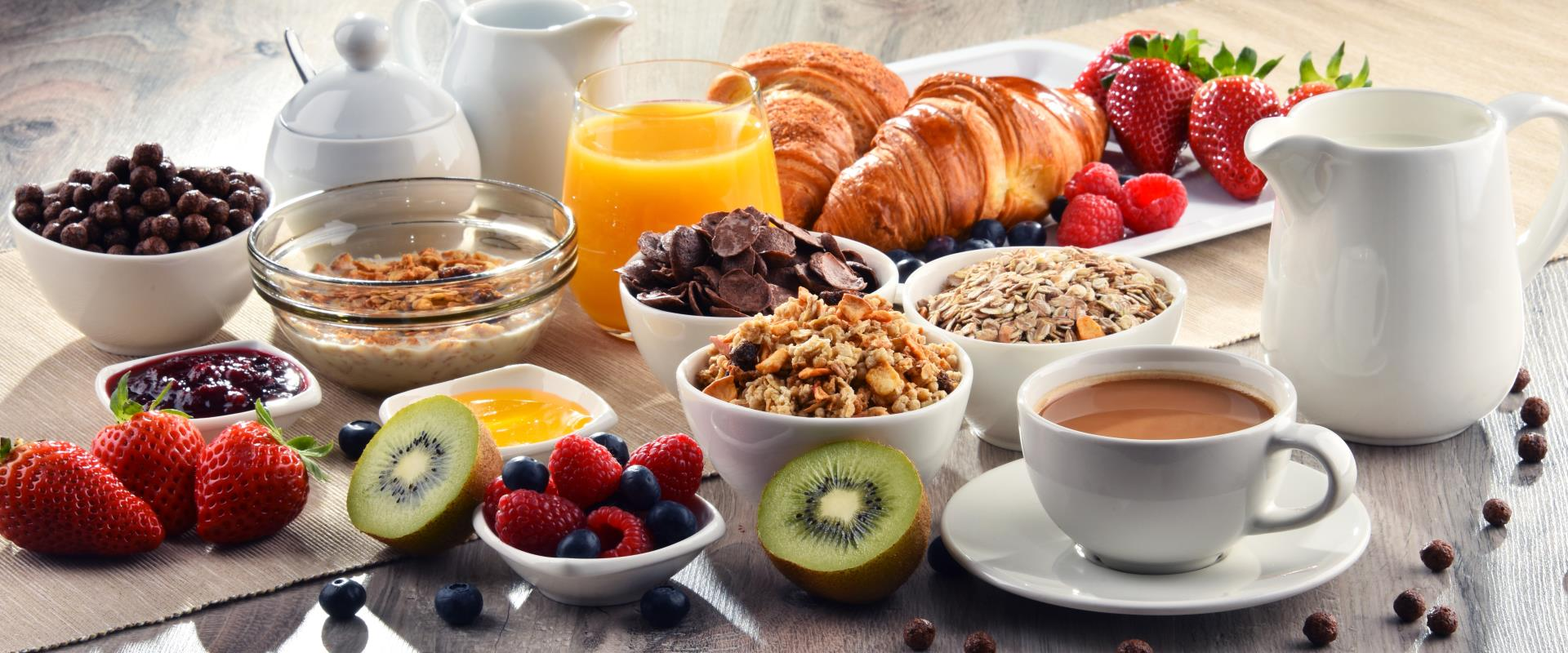Free breakfast BWR members Gold, Platinum, Diamond and Diamond Select