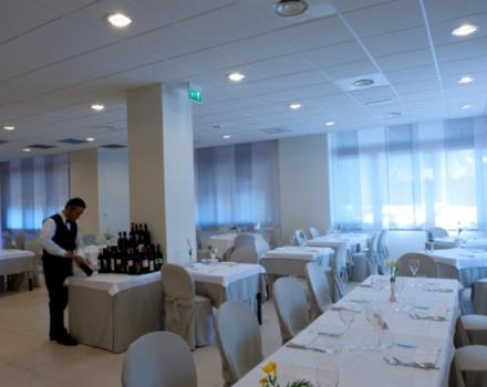 The restaurant at the Best Western Hotel Cristallo  in Mantova Cerese di Virgilio offers you the taste of local cusine